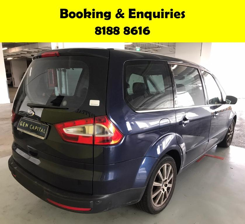 Ford Galaxy -THE LOWEST RENTAL WITH 50% OFF DURING CIRCUIT BREAKER, ADVANCE BOOKING ONLY. $500 deposit driveaway. Whatsapp 8188 8616 now to enjoy special rates!!