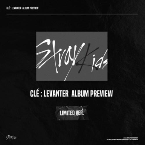 [FREE SHIPPING] STRAY KIDS - CLE LEVANTER LIMITED EDITION