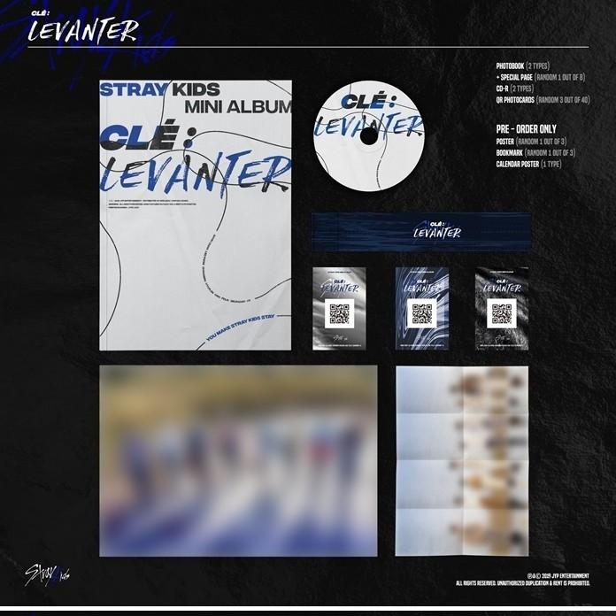 [FREE SHIPPING] STRAY KIDS - CLE LEVANTER NORMAL EDITION