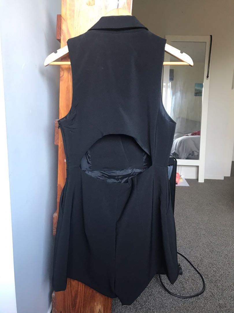 Kookai black playsuit