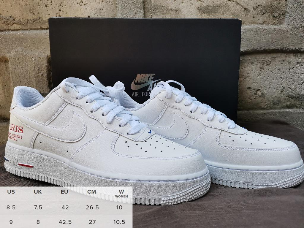 antipaticamente vittima Pensare  LIMITED EDITION! Nike Air Force 1 Low NBA Paris Game, Men's Fashion,  Footwear, Sneakers on Carousell