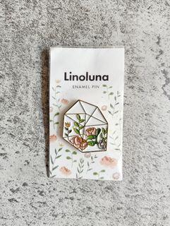 Linoluna Enamel Pin