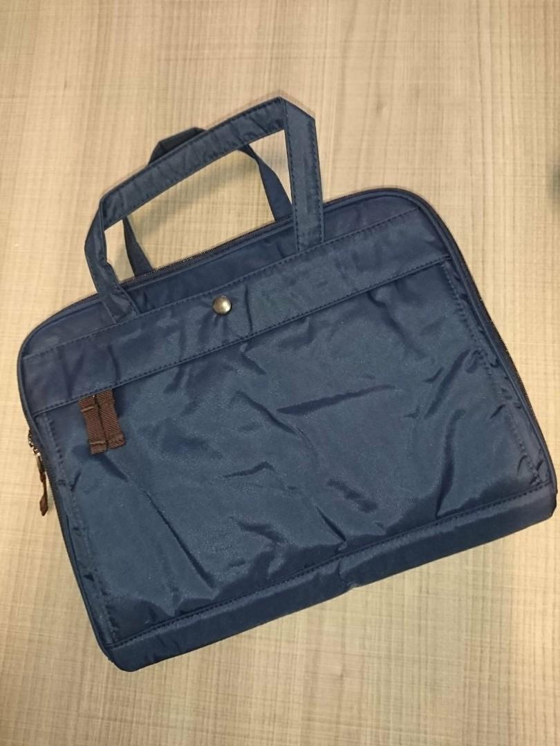 Lowest in Market (Gift idea 1+1): BN Unisex Muji water resistant briefcase + netbook/tablet case ,made of polyester material