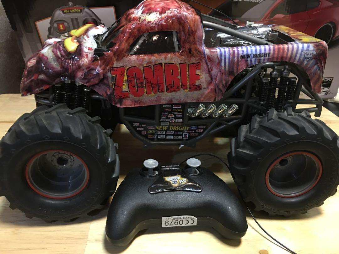 Monster Jam Zombie Remote Control Toys Games Toys On Carousell