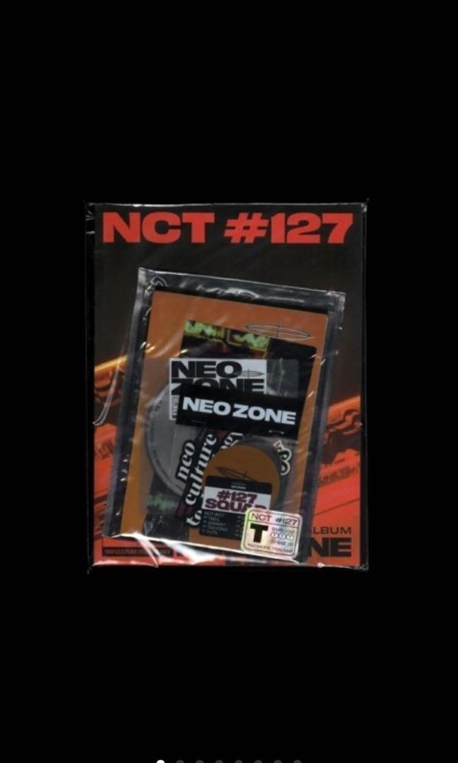 NCT 127 - 2th [NCT #127 NEO ZONE] (T VER.)(+All package)