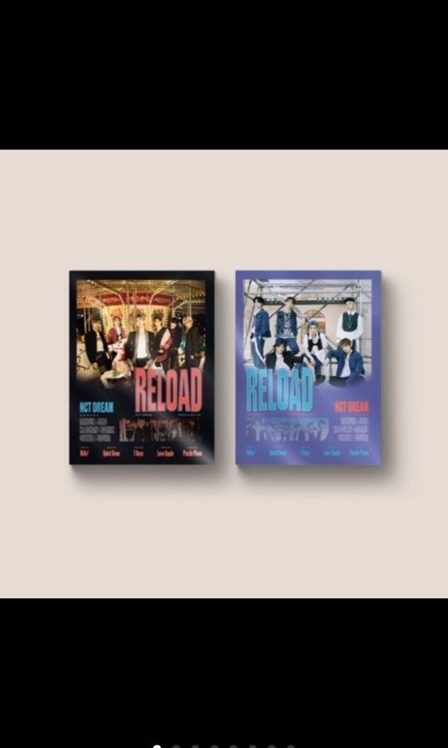 NCT DREAM - RELOAD ALBUM (All Package + Preorder Benefit+Poster)