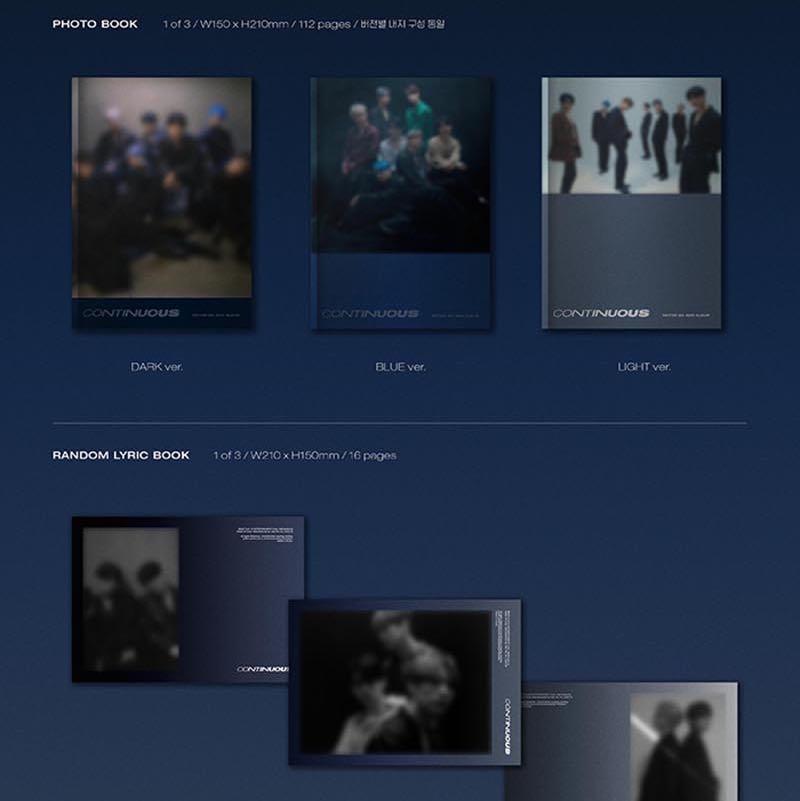 """SALE [READYSTOCK IN KOREA] VICTON MINI ALBUM VOL. 6 """"CONTINUOS"""""""