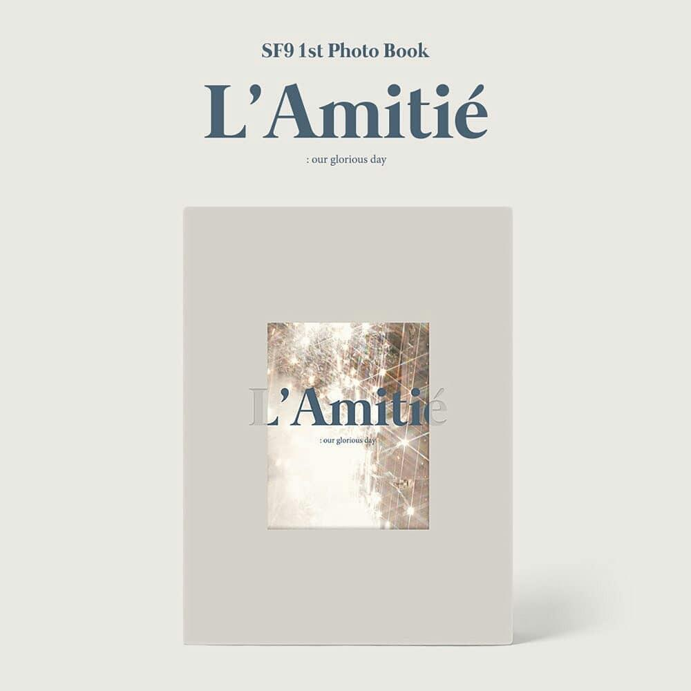"SF9 - SF9 1ST PHOTOBOOK ""L'AMITIÉ : OUR GLORIOUS DAY"""