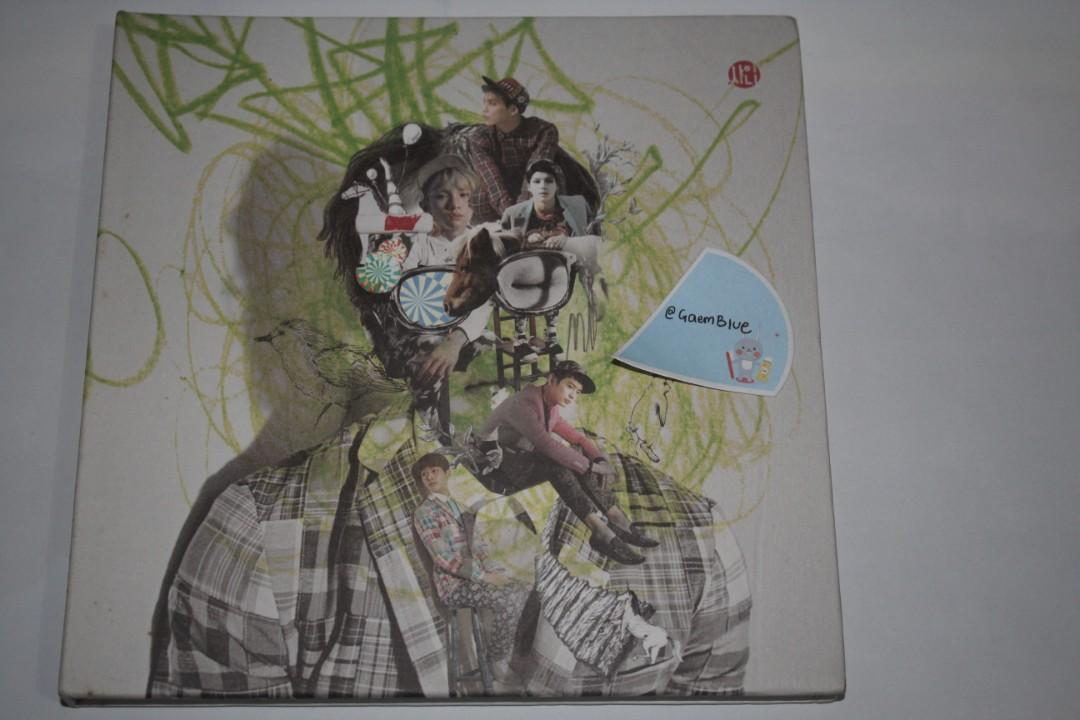 SHINee 3rd Album Dream Girl - The Misconceptions of You