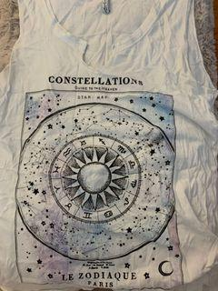Small constellations tank top