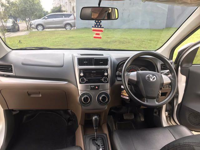 Toyota Avanza 1.3 G AT 2016,Bebas Capek Dalam Mengemudi