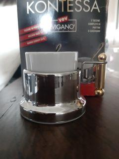 vev vigano 鍍24k金 咖啡杯組 全新 原價5000多