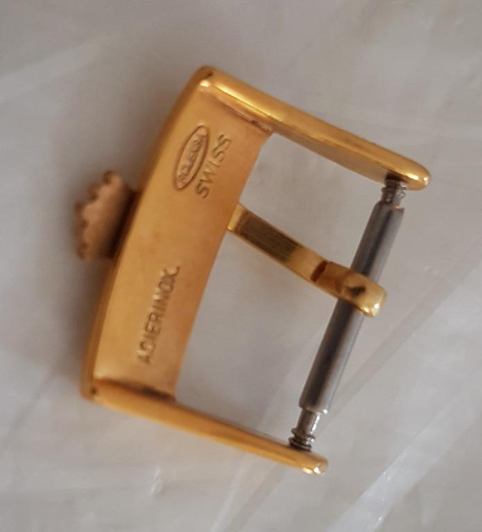 Vintage Rolex Buckle, Old Collectibles, Rare Rolex 18 mm Buckle, Rolex Watch Company, Swiss, Gold filled Buckle from Rolex, Montres Rolex SA Geneva, Switzerland, Pop Culture, Old Souvenir, Art Décor, Avant-grade