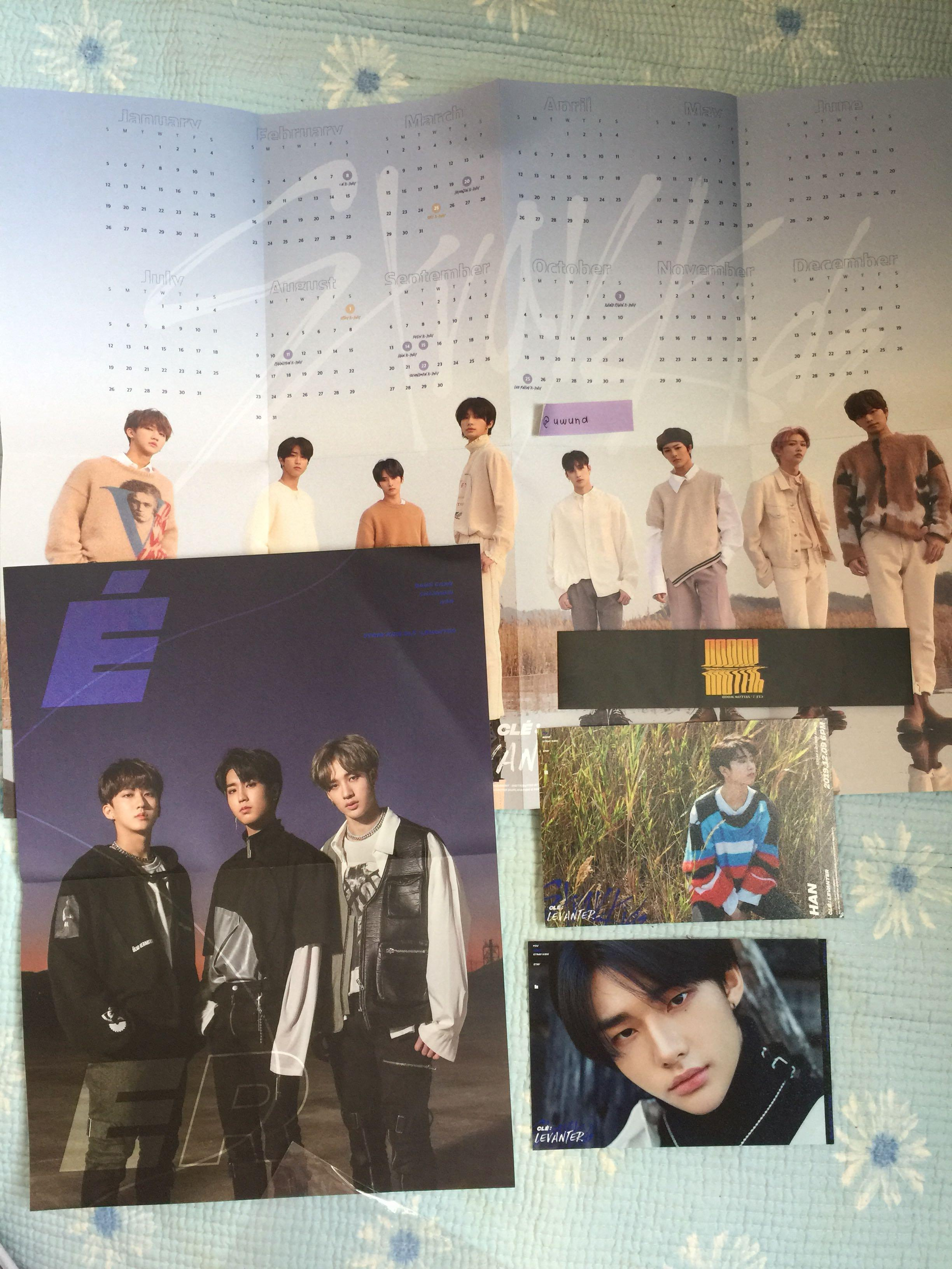 [WTS] STRAY KIDS LEVANTER LIMITED EDITION preorder benefit