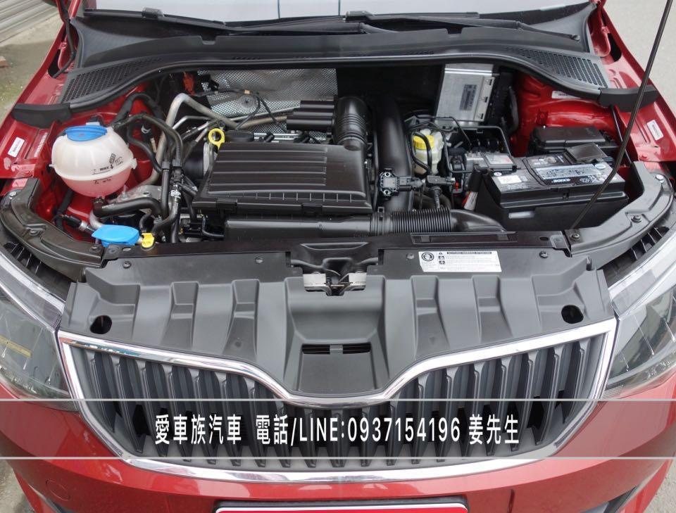 2016年SKODA FABIA 1.2 TSI 安全進口小車、低里程、僅跑5萬公里