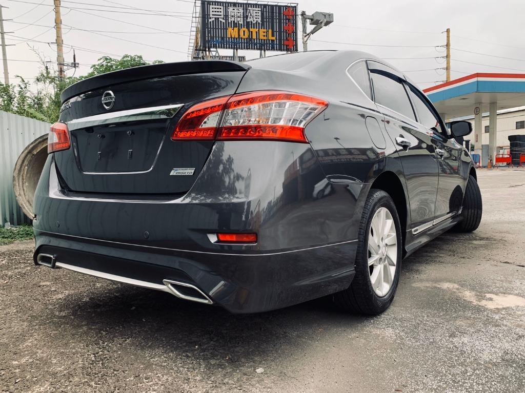 全台最便宜 保證實車實價 正2015 SENTRA 1.8豪華影音版 鋼鐵灰 可全額貸 找錢車 非自售 一手車