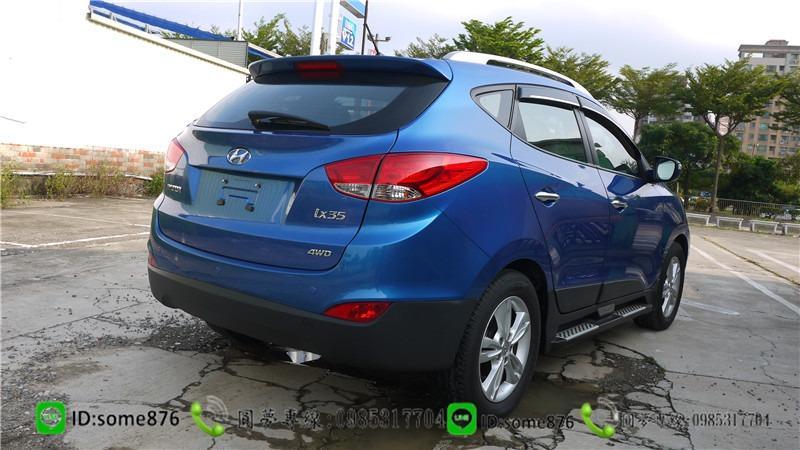 現代 IX35 2.0CC 藍色