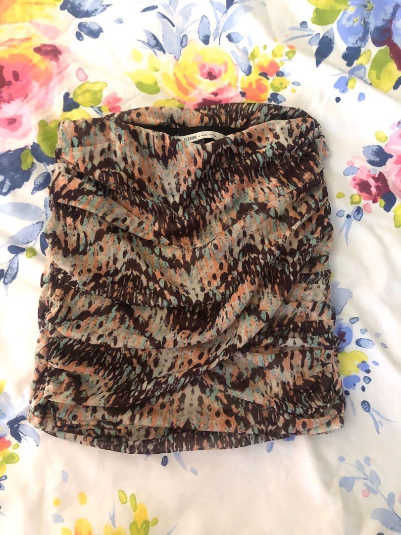 Bershka Bandage Skirt