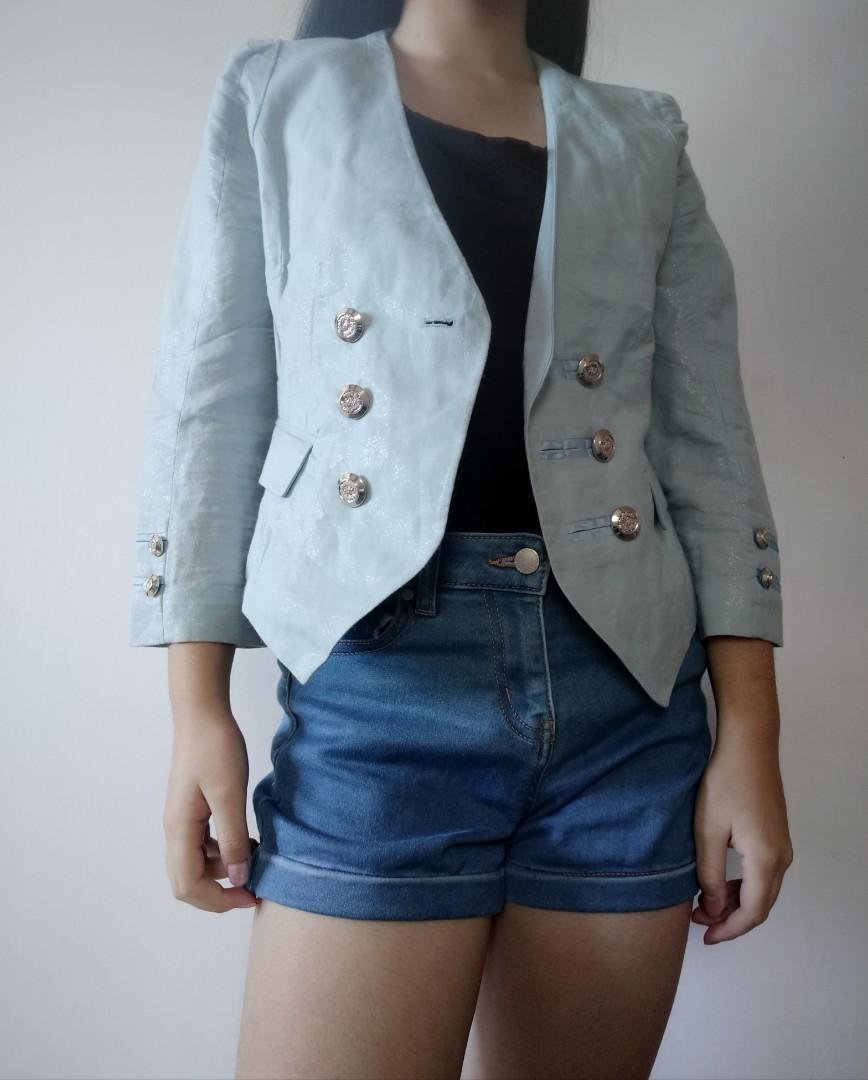 Blazerish outerwear