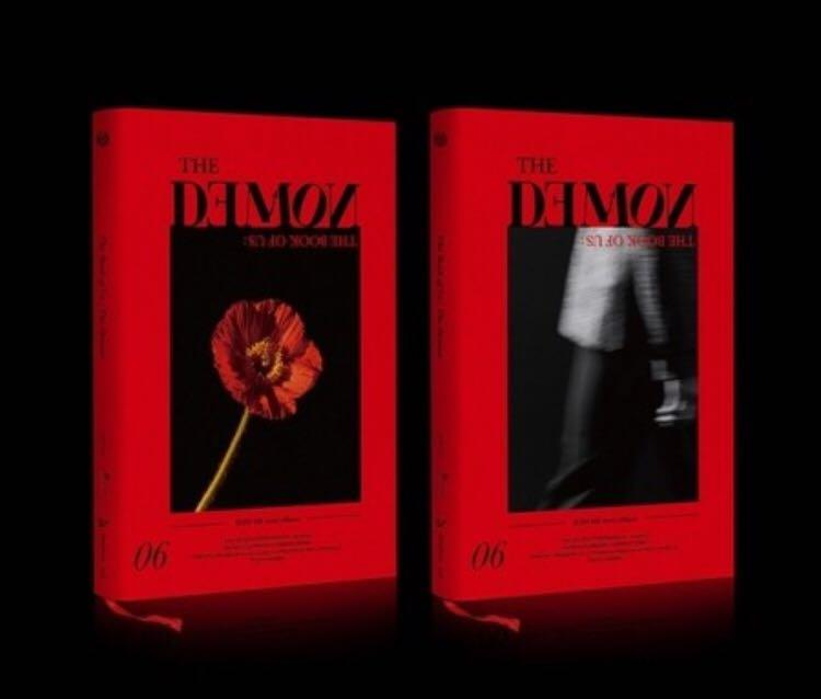 DAY6 6TH MINI ALBUM - The Book of Us : The Demon [CD 2Ver]