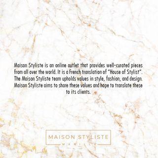What is Maison Stysliste?
