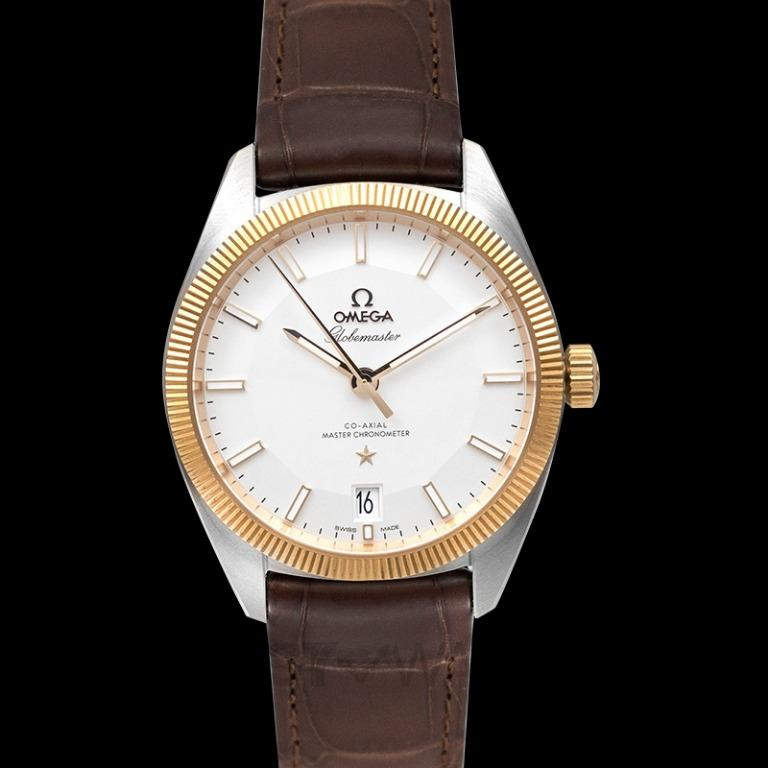 [NEW] Omega Constellation Globemaster Co-Axial Master Chronometer 39mm Automatic Silver Dial Yellow Gold Men's Watch 130.23.39.21.02.001