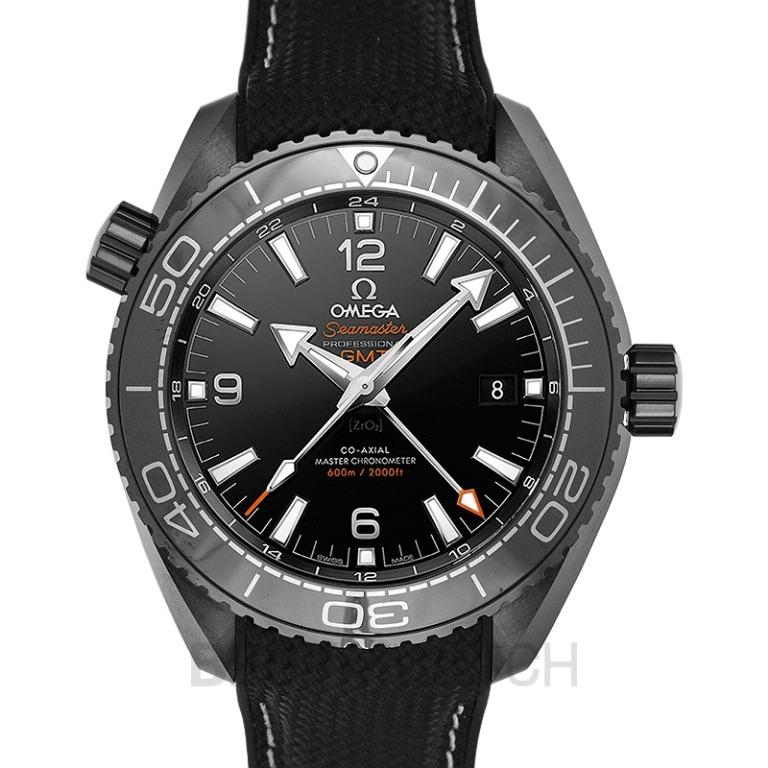 [NEW] Omega Seamaster Planet Ocean 600M Co-axial Master Chronometer GMT 45.5mm Automatic Black Dial Ceramic Men's Watch 215.92.46.22.01.001