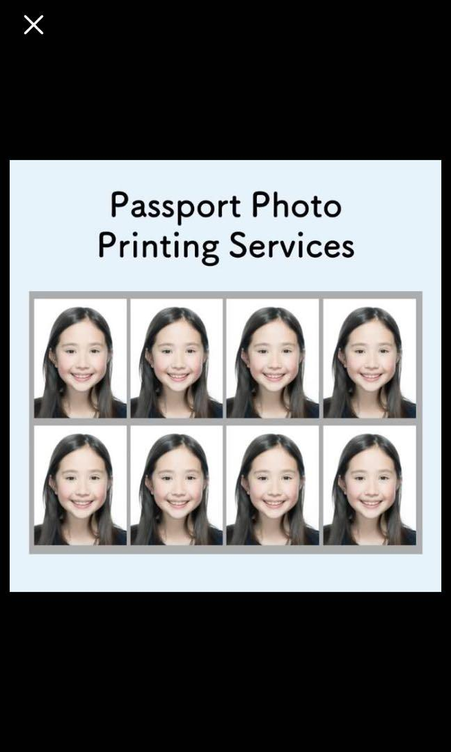 Passport Photo Printing Services Free Delivery Design Craft Art Prints On Carousell