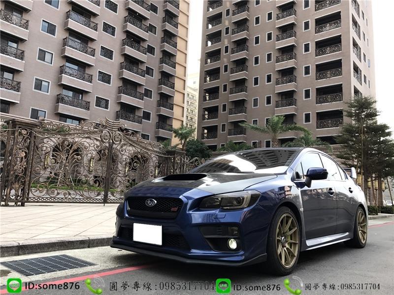 SUBARU WRX STI 2.0CC 藍色