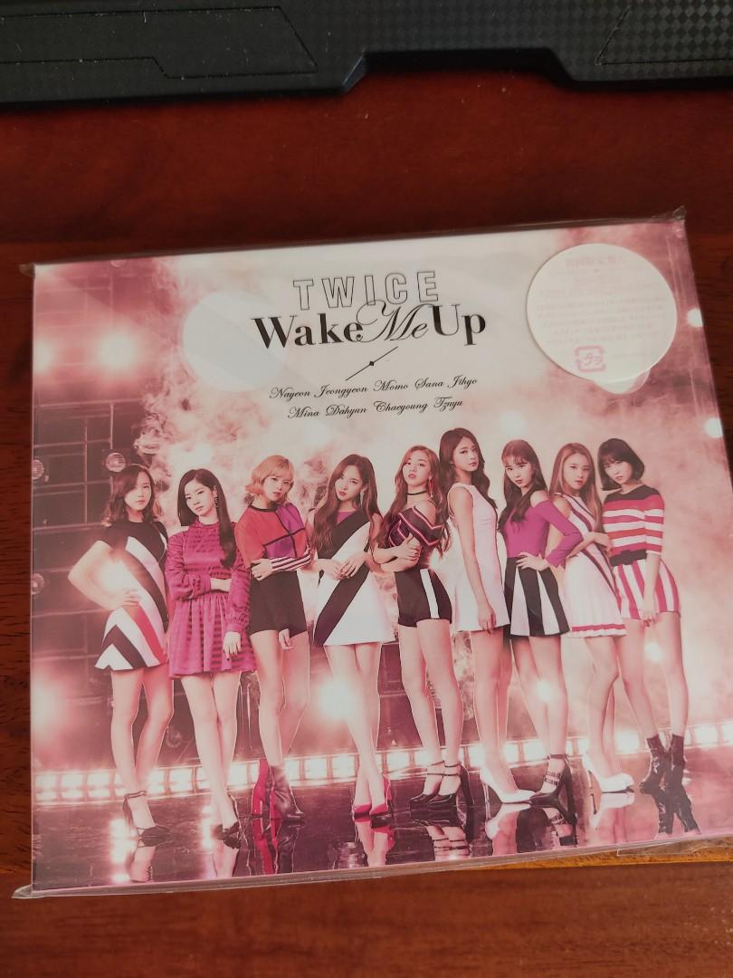TWICE JAPAN ALBUM - Wake Me Up - Limited Edition Type A w/ DVD