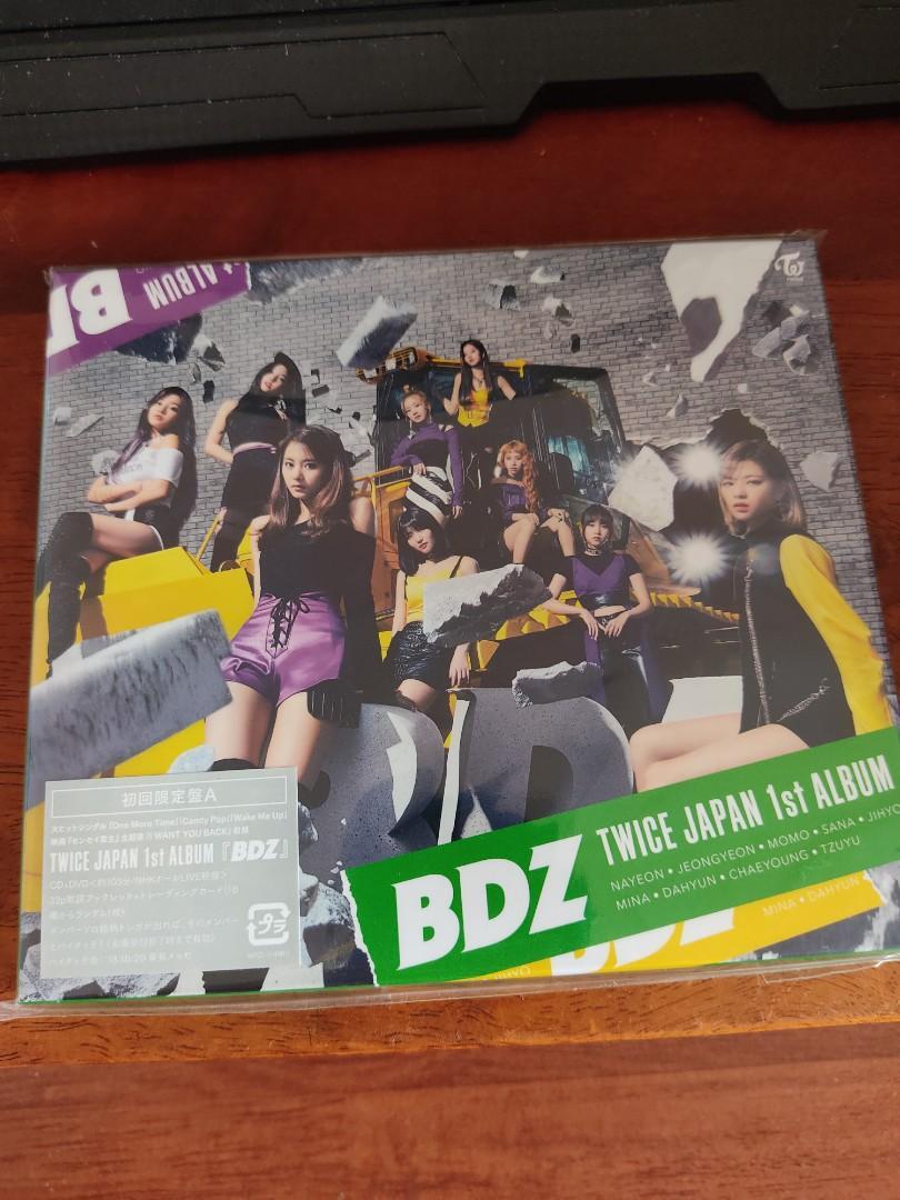 TWICE JAPAN ALBUMS - BDZ - LIMITED EDITION TYPE A w/ DVD