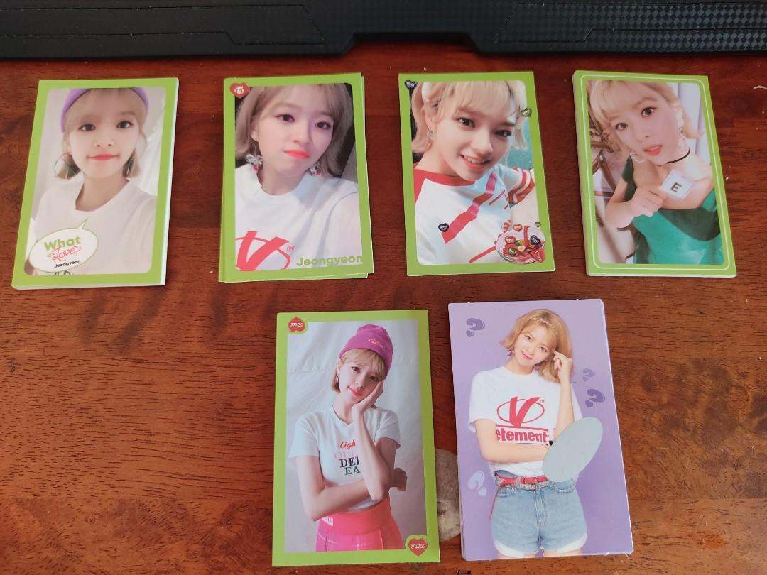 TWICE OFFICIAL PHOTOCARD - JEONGYEON - WHAT IS LOVE