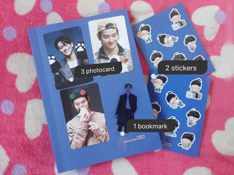 ⭐️WTS ⭐️  GOT7 JB merchandise [ From MATCHPOINT FOR JB  ]