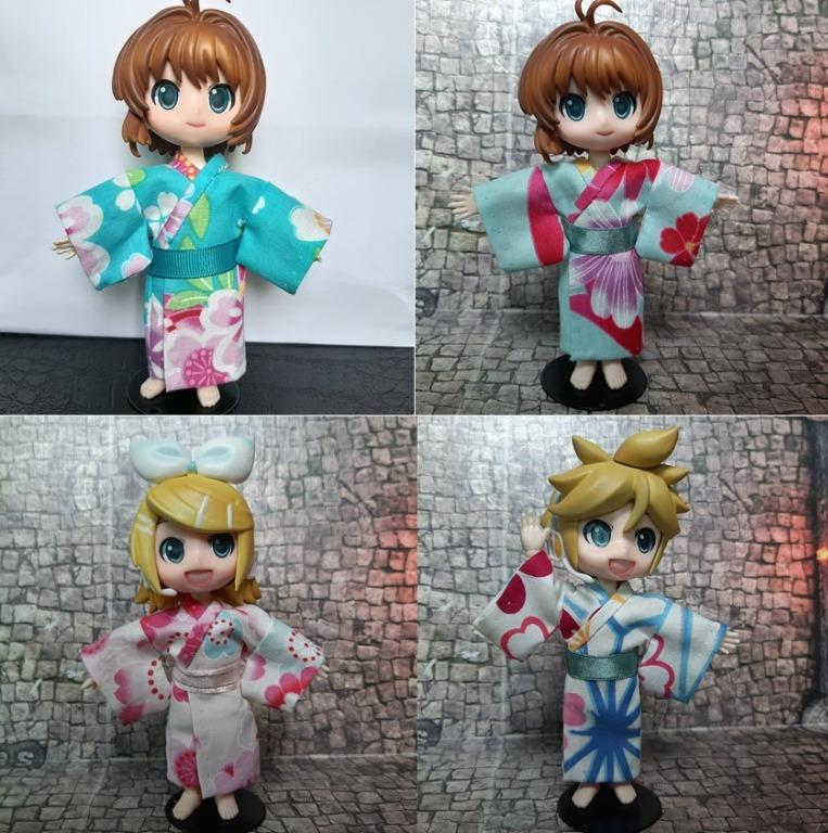 Yukata for obitsu OB11 Nendoroid doll Molly