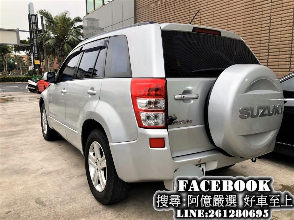 2006 Vitara吉普車4WD 免頭款全額貸 FB搜尋:阿億嚴選 好車至上 非SX4、RAV4、CRV、小悍馬