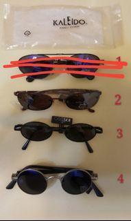 太陽眼鏡, 廚櫃下架貨品,不跟盒及抹布,每款$10,1号無貨了
