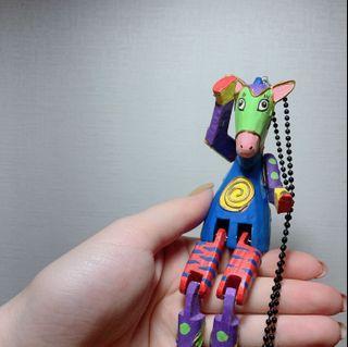 彩色手作小馬特色項鍊