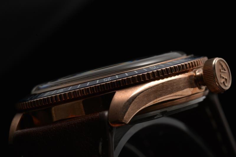 ApexRare Christopher Ward Bronze Trident C65 Homage