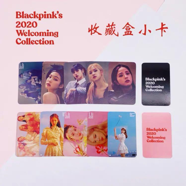 Blackpink 2020 welcoming collection photocards set