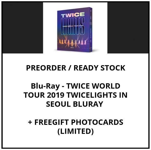 Blu-Ray - TWICE WORLD TOUR 2019 TWICELIGHTS IN SEOUL BLURAY  - PREORDER / READY STOCK + FREE GIFT PHOTOCARDS
