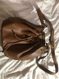 Chloe Bucket Bag in Tan