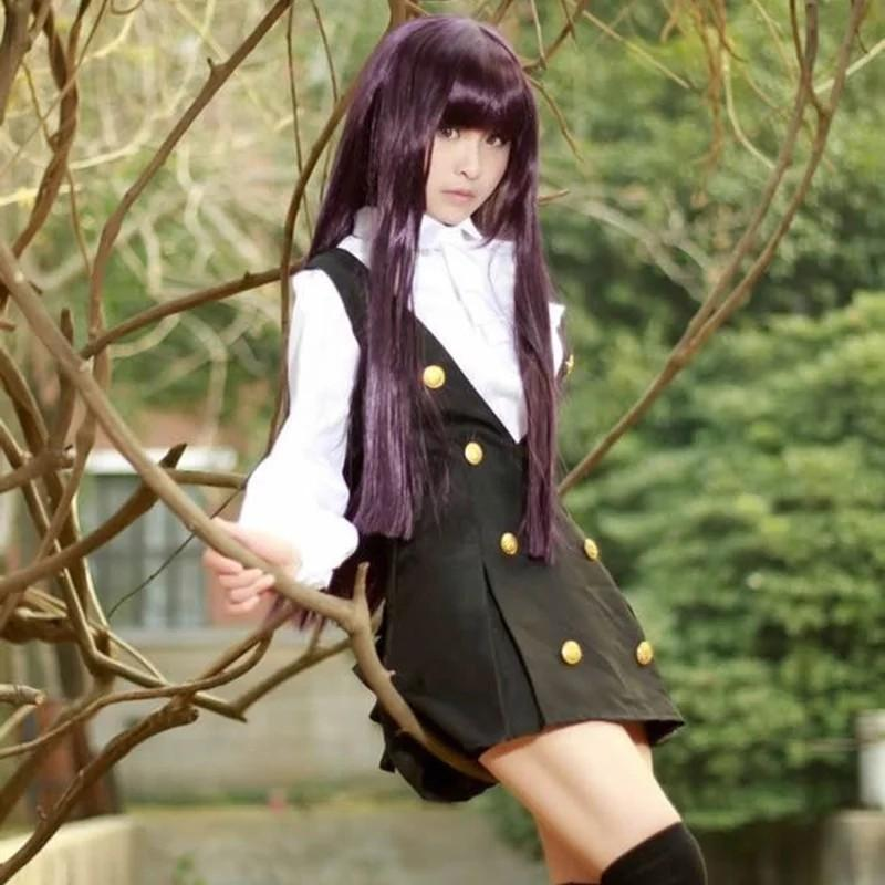 Inu x boku Ririchiyo Shirakiin karuta Roromiya winter school uniform凛凛蝶