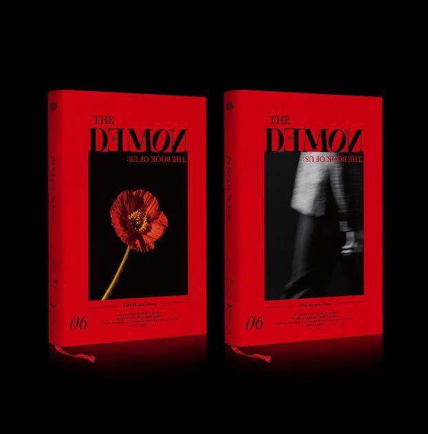 Day6 6th mini album < The Book of Us : The Demon >
