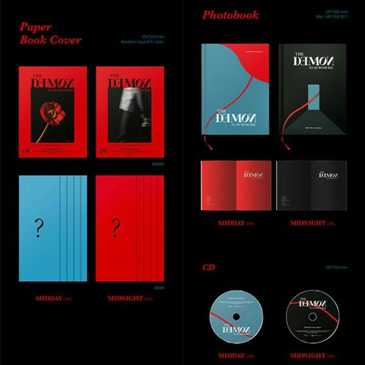 DAY6 6TH MINI ALBUM THE BOOK OF US: THE DEMON FREE POSTER IN TUBE PREORDER KPOP