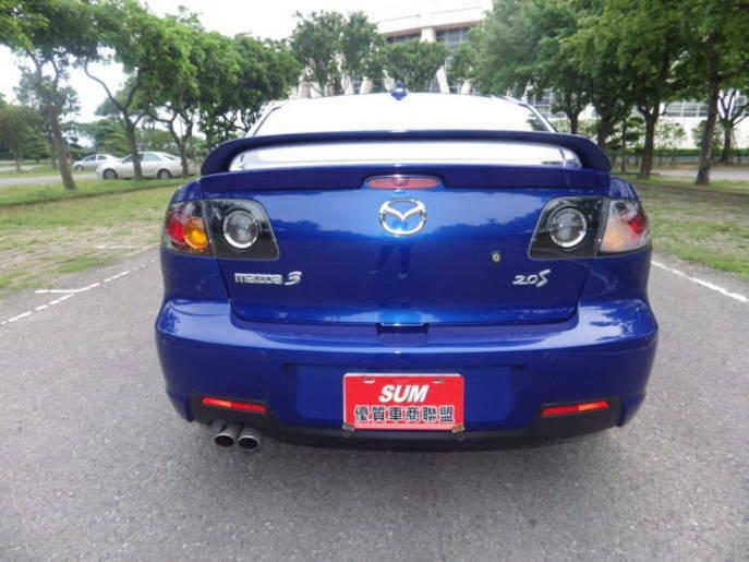 【FB搜尋桃園阿承】馬自達 超人氣MAZDA3跑9萬 2006年 2.0CC 藍色 二手車 中古車