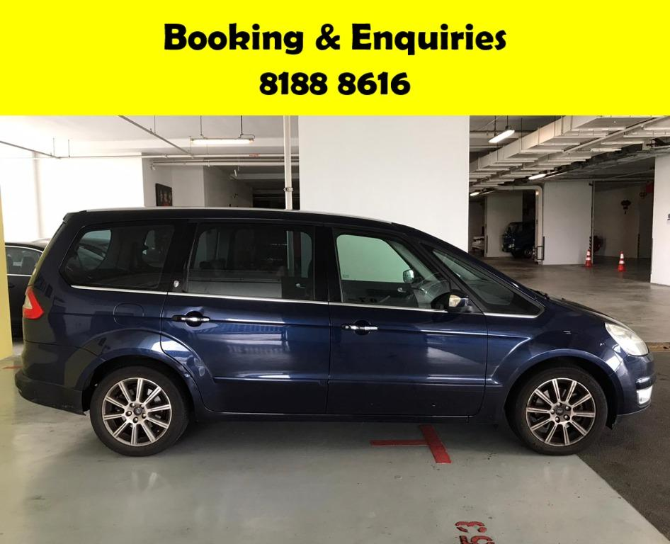 Ford Galaxy 2.3A 50% OFF CIRCUIT PERIOD ONLY!! GRAB A CAR BY 30TH APRIL TO ENJOY THE LOWEST RENTAL! WHATSAPP 8188 8616 FOR MORE INFO!