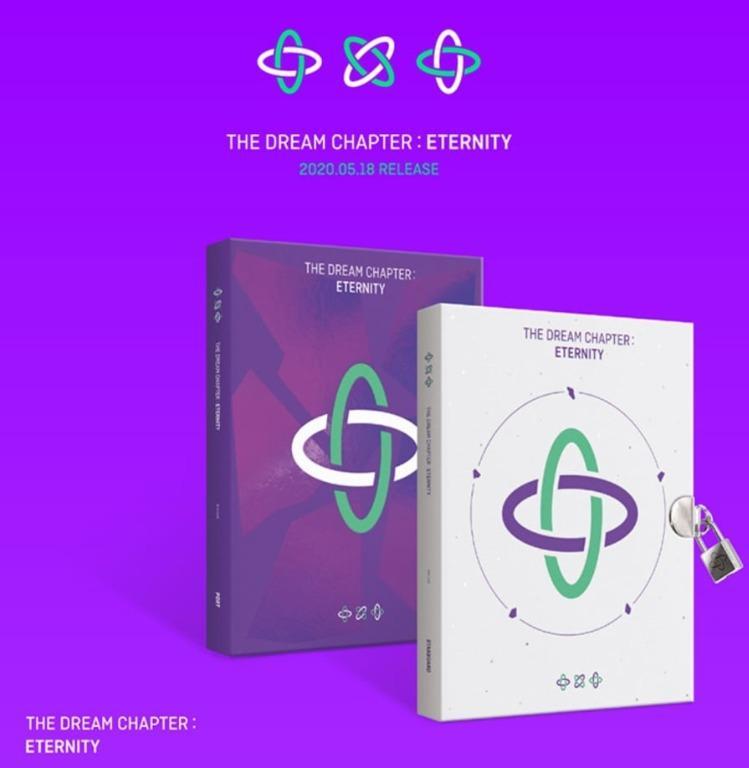 [FULL PYMT]  TXT The Dream Chapter : Eternity (Random / Set)