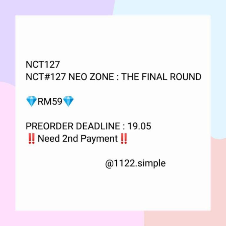 NCT127 Repackage Album [NEO ZONE : THE FINAL ROUND]