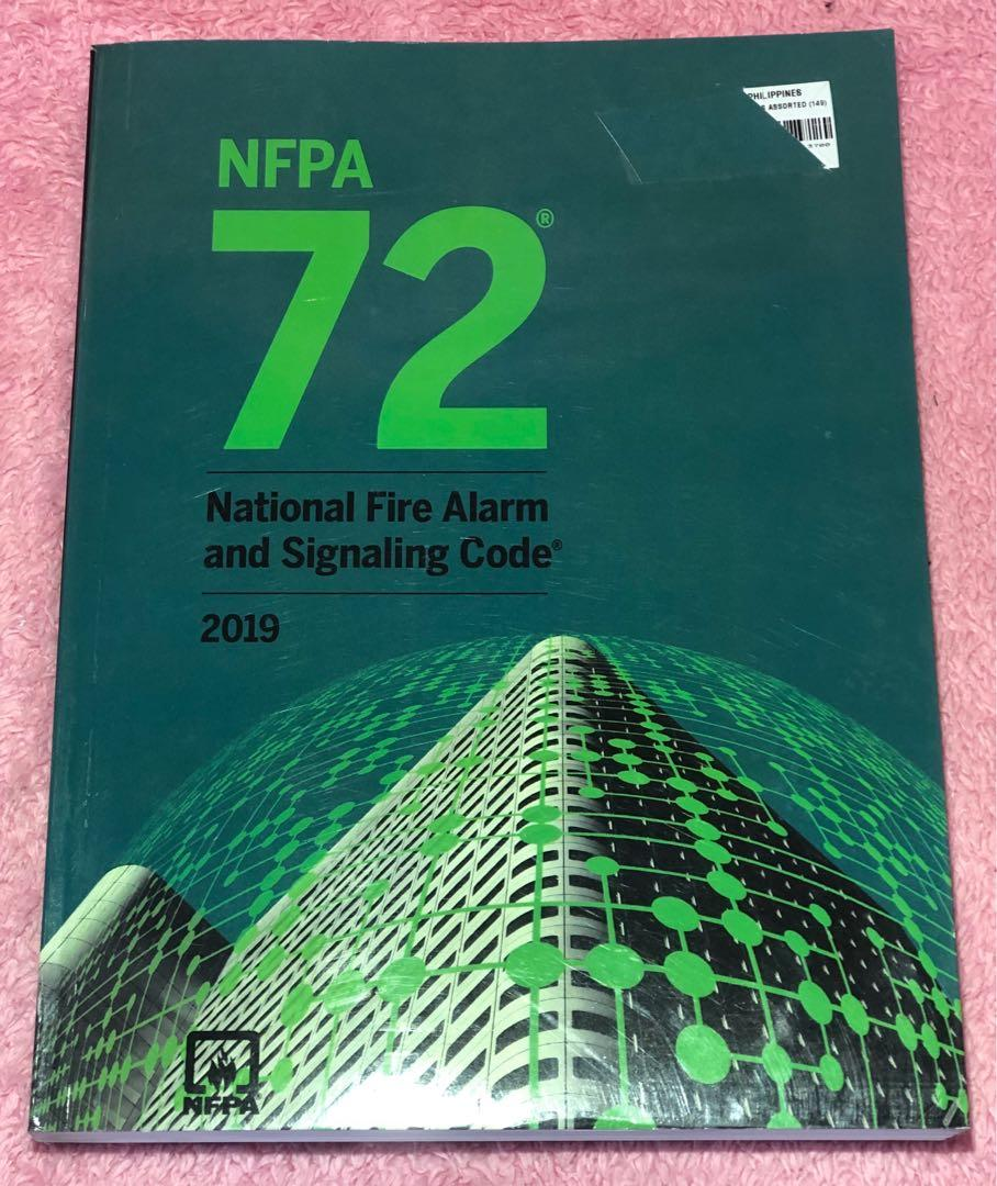 NFPA 72 National Fire Alarm & Signaling Code 2019 Used, Like New Price: 2300 Item 00405