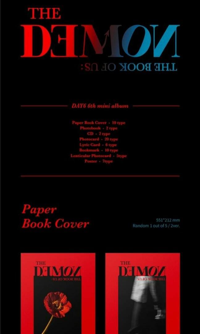 [PO] DAY6 6th Mini Album - The Book of Us : The Demon